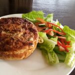 Quiche Lorraine at the Baker's Table
